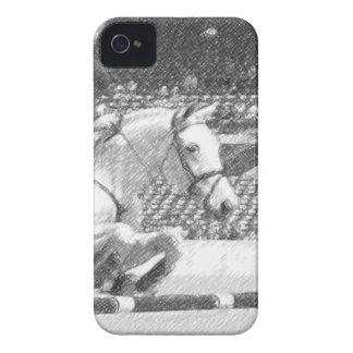 Sobre fácil - equestrian del puente del cazador iPhone 4 cárcasa