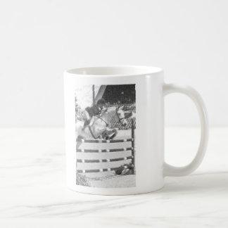 Sobre fácil - equestrian del puente del cazador tazas de café
