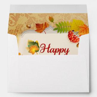 Sobre feliz de la acción de gracias 13