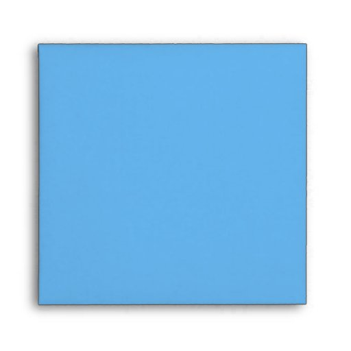 Sobre floral retro azul femenino hermoso del pensa