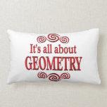 Sobre geometría cojin