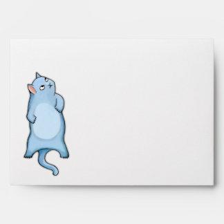 Sobre gruñón de la tarjeta de George A7 del gato