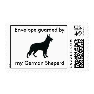 Sobre guardado por mi Sheperd alemán Envio