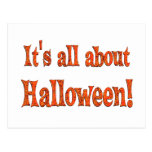 Sobre Halloween Postal