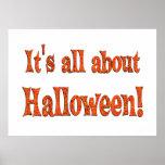 Sobre Halloween Posters