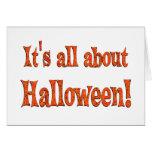 Sobre Halloween Tarjeta