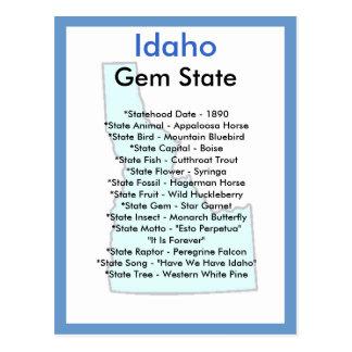 Sobre Idaho Tarjetas Postales