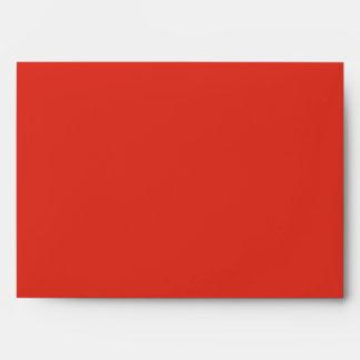 sobre interior del azul rojo del exterior 5x7