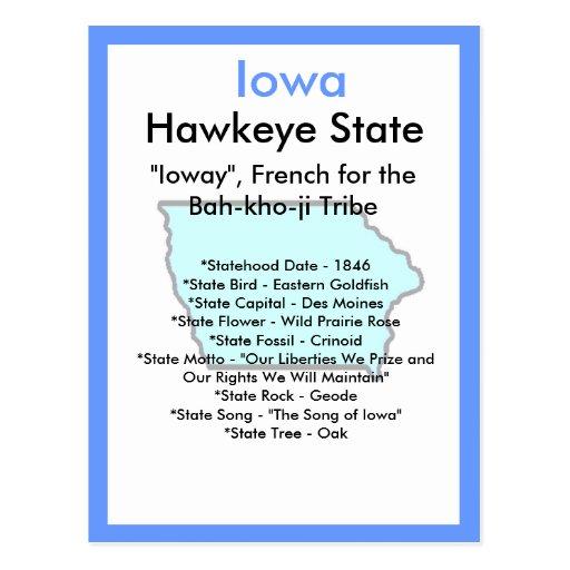 Sobre Iowa Postal
