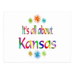 Sobre Kansas Tarjeta Postal