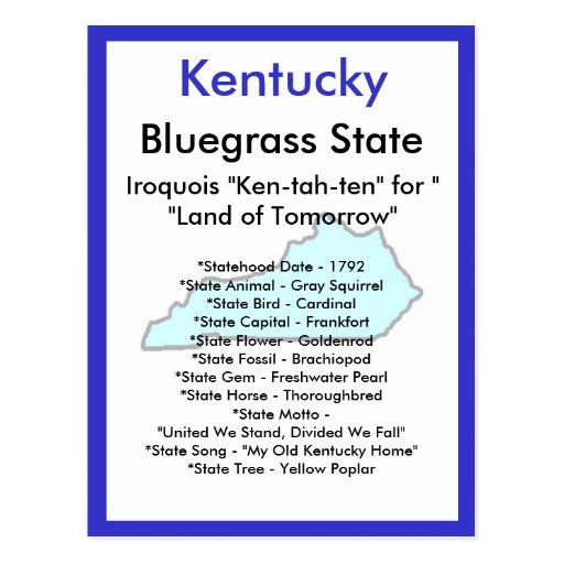 Sobre Kentucky Postales