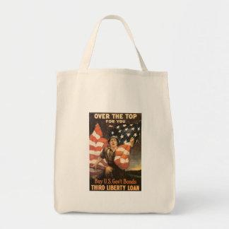 Sobre la guerra mundial superior 2 bolsas