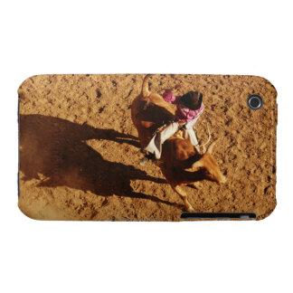 Sobre la opinión un vaquero que monta una Bull Case-Mate iPhone 3 Coberturas