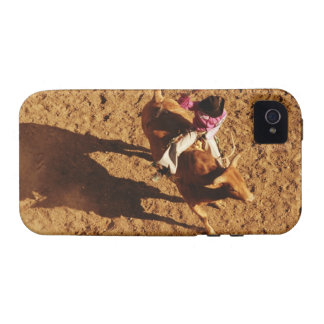 Sobre la opinión un vaquero que monta una Bull Vibe iPhone 4 Funda
