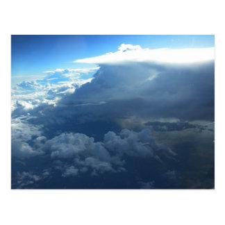 Sobre la tormenta postales