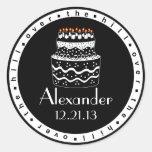 Sobre la torta del Colina-Cumpleaños