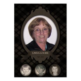 sobre las invitaciones del monumento de la foto de tarjetas de visita grandes