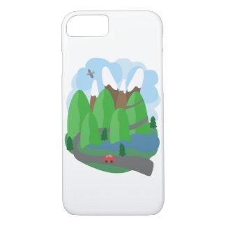 Sobre las montañas funda iPhone 7