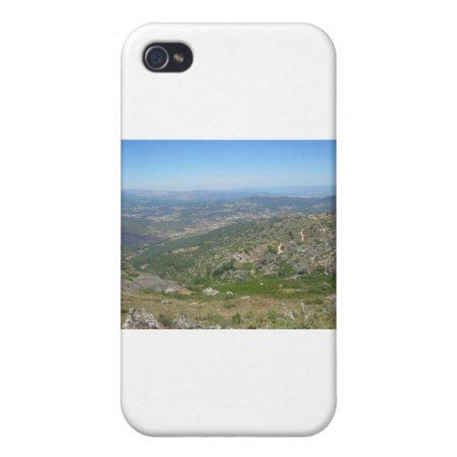 Sobre las montañas iPhone 4/4S funda