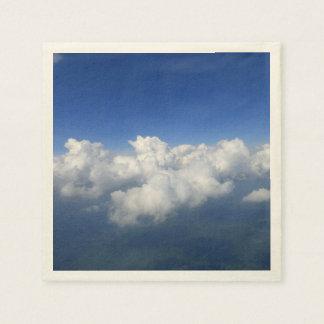 sobre las nubes 03 servilleta desechable