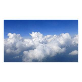 sobre las nubes 03 tarjetas de visita