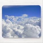 Sobre las nubes tapete de raton
