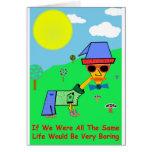 Sobre lemas y refranes de la vida para los hombres tarjeta