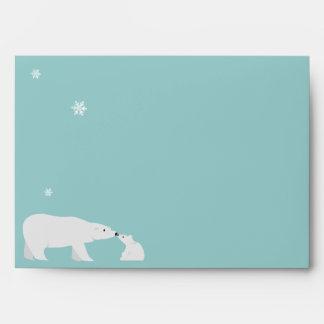 Sobre lindo del oso polar