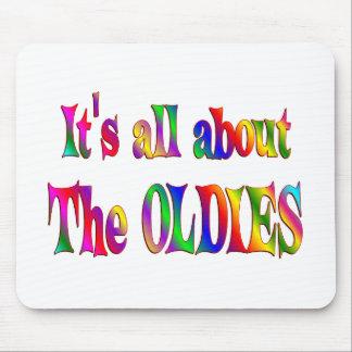 Sobre los Oldies Mouse Pads