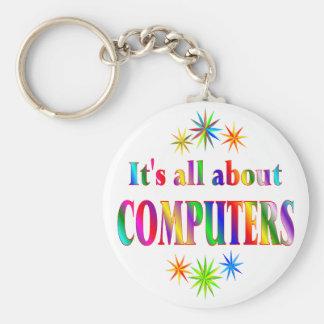 Sobre los ordenadores llavero redondo tipo pin