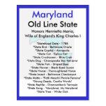 Sobre Maryland Tarjeta Postal