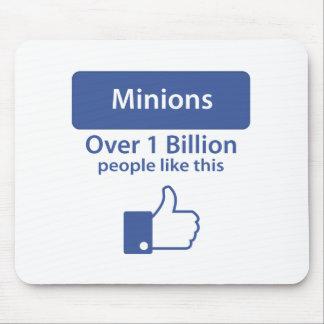 Sobre mil millones gustos - subordinados mousepad