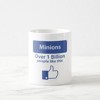 Sobre mil millones gustos - subordinados taza clásica