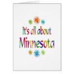 Sobre Minnesota Felicitación