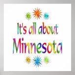 Sobre Minnesota Poster