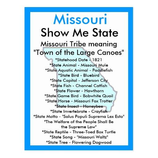 Sobre Missouri Postales