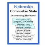Sobre Nebraska Tarjeta Postal