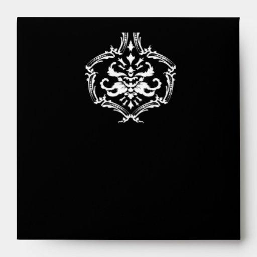 sobre negro del damasco 311-Exqusite
