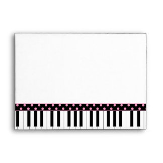 Sobre negro rosado del dulce 16 del tema del piano