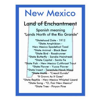Sobre New México Tarjeta Postal