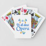 Sobre ópera baraja cartas de poker