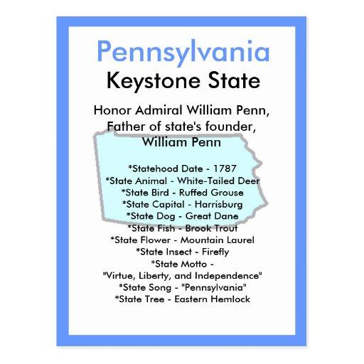 Sobre Pennsylvania Postales