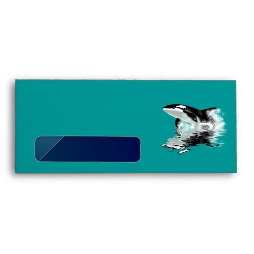 Sobre postal de la ORCA SALVAJE