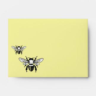 Sobre reciclado abeja A6 de Mellifera de los Apis