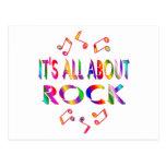 Sobre roca postal