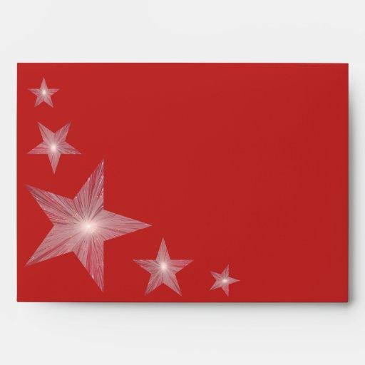 Sobre rojo 2 de la estrella