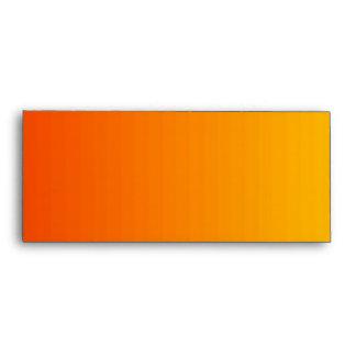 Sobre rojo del naranja y del amarillo
