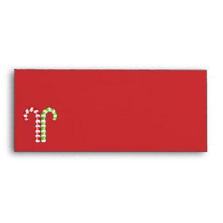 Sobre rojo del verde #10 de los bastones de