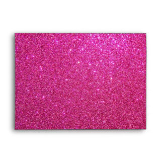 Sobre rosado del brillo