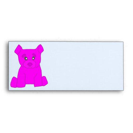 Sobre rosado del oso